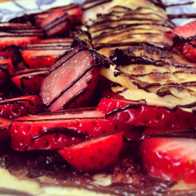 Paleo, Vegan, Dairy & Gluten Free Crepes. Recipe on www.eatwelltravelfar.weebly.com